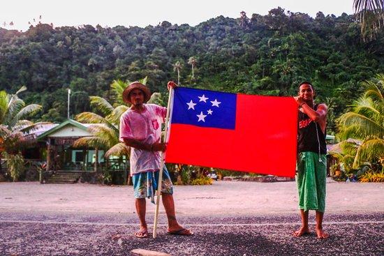 Saleapaga, Samoa: We love Samoa