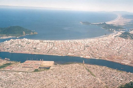 Santos: Tagesausflug Stadtrundfahrt...