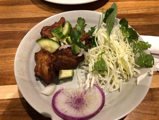 Picture of east side king thai kun austin for Eastside fish fry menu