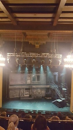 Comedy Theatre: Views from the Dress Circle - Row F