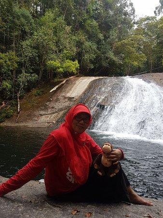 East Kalimantan, Indonesia: Air Terjun Tambalang Kecamatan Segah. Tanjung Redeb.Kab Berau
