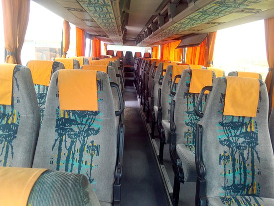 Inside View Of Our Renault 55 Seater Bus Picture Of Rainbow Exclusive Car Rental And Tour Services Addis Ababa Tripadvisor