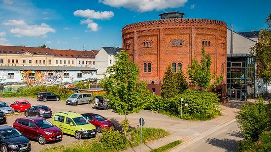 """Soziokulturelles Zentrum """"Alter Gasometer"""""""