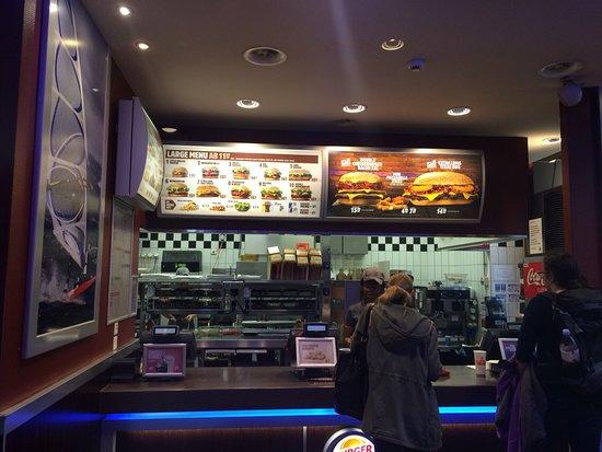 burger king hauptbahnhof z rich zurigo ristorante recensioni numero di telefono foto. Black Bedroom Furniture Sets. Home Design Ideas