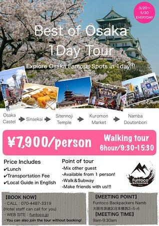 Best of Osaka 1Day Tour