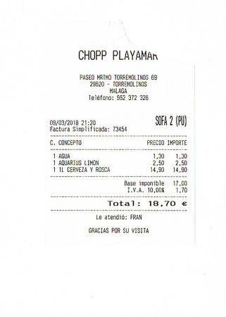 Chopp Playamar照片