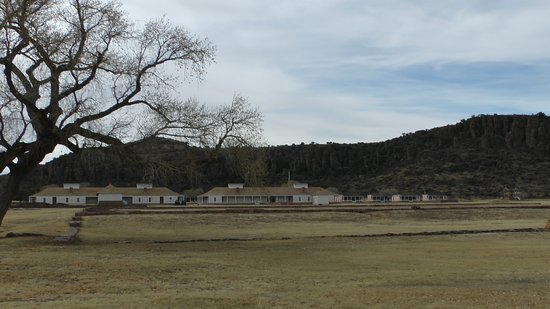 Fort Garland, CO: View from the entrance road of the fort
