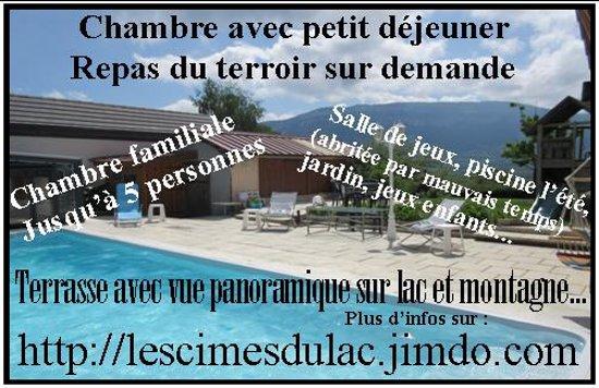 Dullin, France: La piscine et nos coordonnées