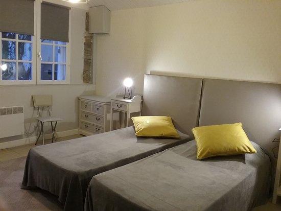 Bonnichon: Chambre à 2 lits de plain pied