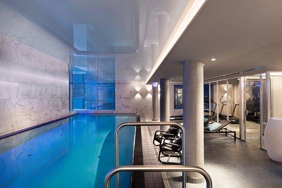 Heated Indoor Pool Bild Von Adina Apartment Hotel Hamburg