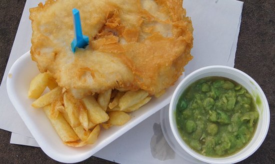 Parkgate, UK: The best fish and chips
