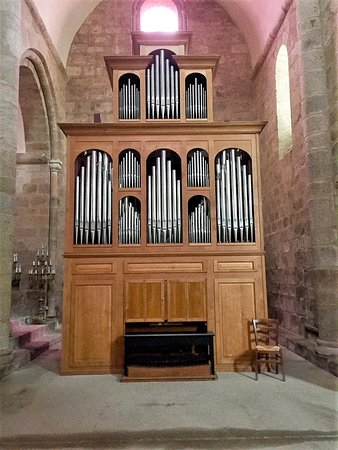 Benevent-l'Abbaye, Francja: un orgue humble