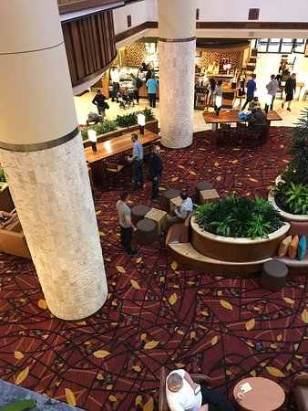 San Antonio Marriott Rivercenter: Reception