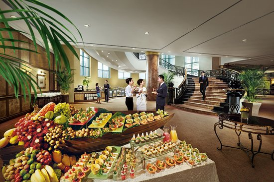 Sunway Resort Hotel & Spa: A LUSCIOUS MEETING-BREAK SPREAD