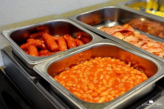 Addo, Sør-Afrika: Buffet breakfast