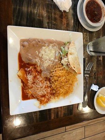 Fontana, Калифорния: Taco combo