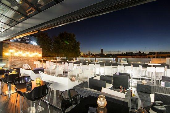 Terraza Picture Of Hotel Patio De La Alameda Seville