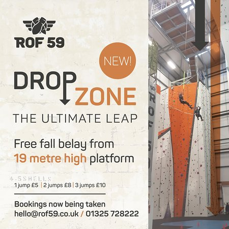 Newton Aycliffe, UK: Are you brave enough for Drop Zone?