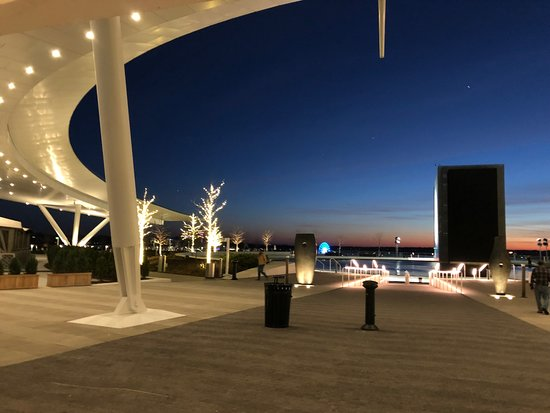 MGM National Harbor: Blick Richtung Fluß