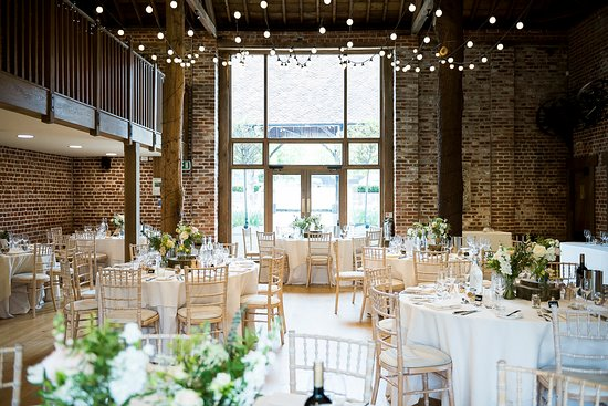 The Mill Barn Decorated For A Wedding Breakfast Photo By Fiona