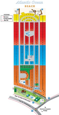 Holiday Trav-L-Park Resort: A view of our Resort Map