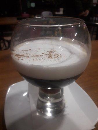 Cafe Camelot: Tortilla Lancelot: Champiñones,picadillo,quesu roxu  afuega'l pitu.
