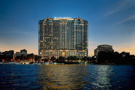 Four Seasons Hotel Cairo at Nile Plaza building