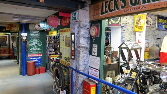 Lakeland Motor Museum: Not only cars, but lots of themed displays as well.