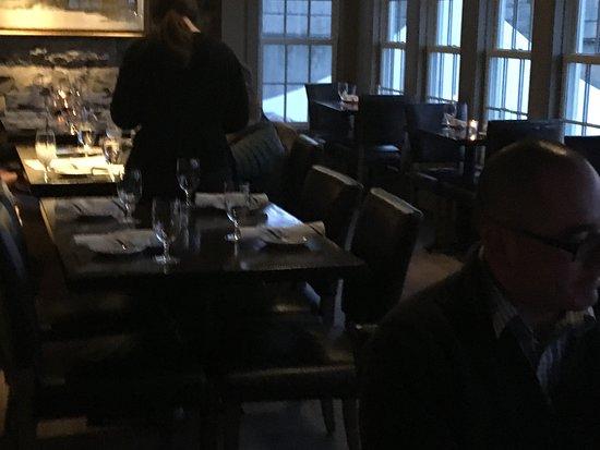 Le Roy, Estado de Nueva York: waterside dining area