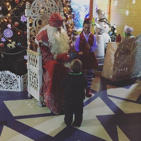 Mardengskoye, Russia: Подарок вручен