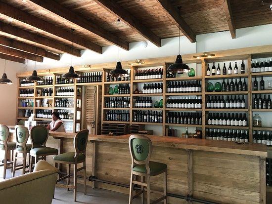 Stellenbosch, Sudáfrica: Tasting Room