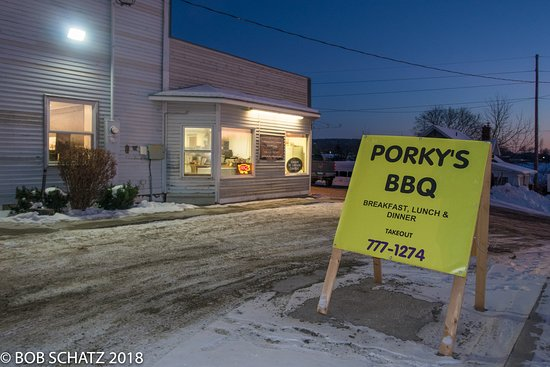 Porky's winter quarters at 15 Main St., Vergennes.