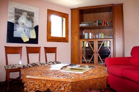 La Fortunada, Spain: Sala de TV y lectura