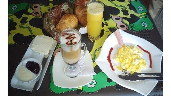 Machachi, Ecuador: Desayuno Tradicional