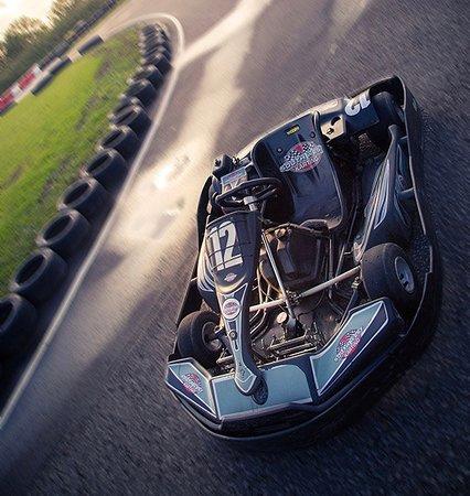 Sparkford, UK: Adult Biz 200cc Karts