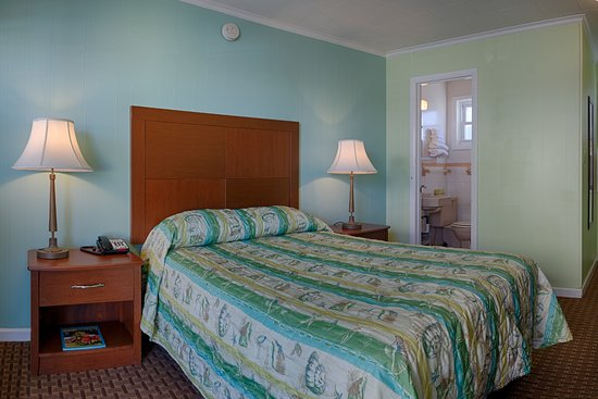 Madison Beach Motel: Standard room with 1 double bed