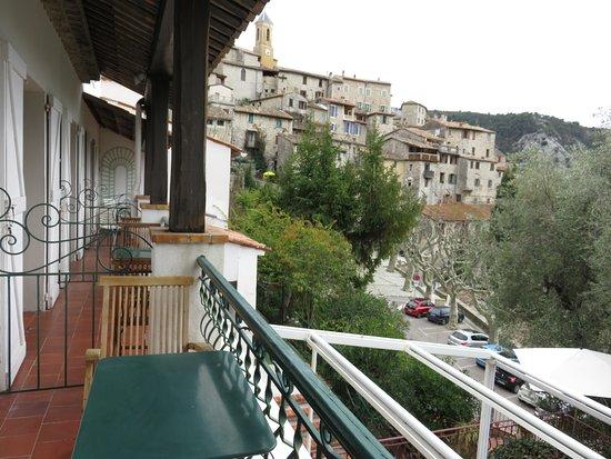 Auberge de la Madone : Balcon