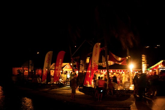 Belmont, Bequia : The Frangi at night
