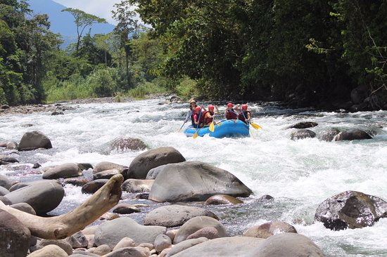 Puerto Viejo de Sarapiqui, Costa Rica: Photo by Aguas Bravas Rafting Company