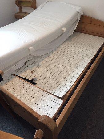Broken bed - Picture of St. Anton, St. Anton am Arlberg - TripAdvisor