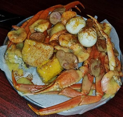 Sea Shells Seafood Restaurant Our Combo 1