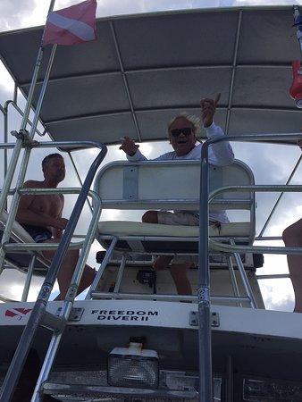 "Caribbean Sea Sports Dive Shop: ""The Boss"""