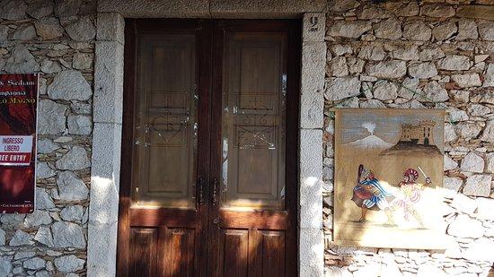 Castelmola, Italia: Ingresso