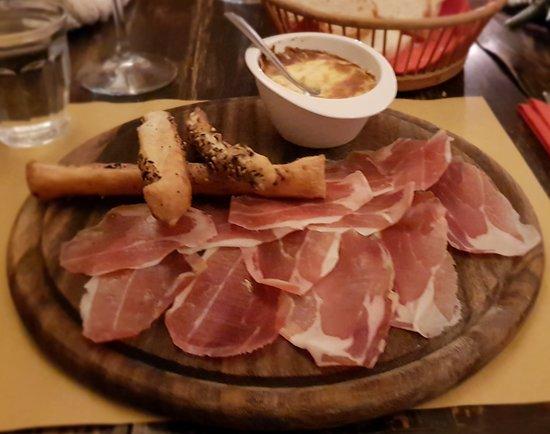 Osteria Il Campanellino: fuori menu al grana(favoloso)