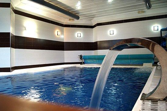 Province of Valladolid, Spanyol: La zona de agua donde suelo relajarme después de hacer mi cardio mañanero:) genial para rematar