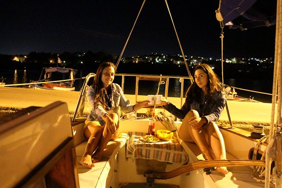Souda, Greece: enjoy the evening and relax aboard...