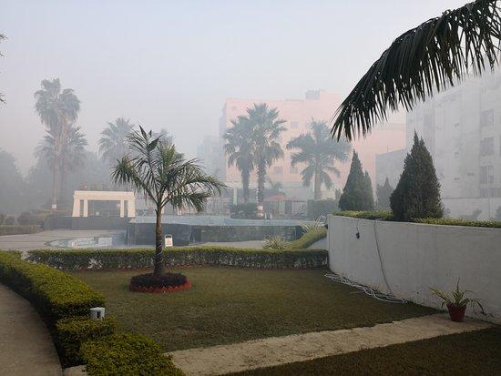 Ramada Plaza JHV Varanasi : Pool area