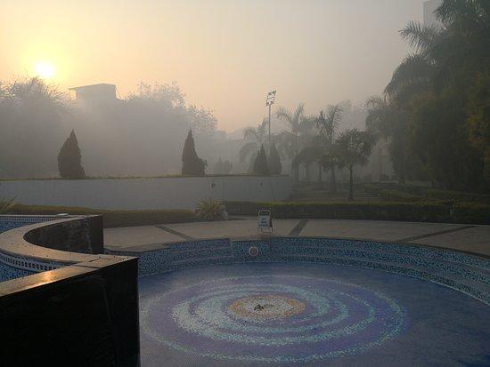 Ramada Plaza JHV Varanasi : Dried up pool