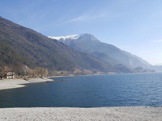 Molina di Ledro, İtalya: The Ledro Lake