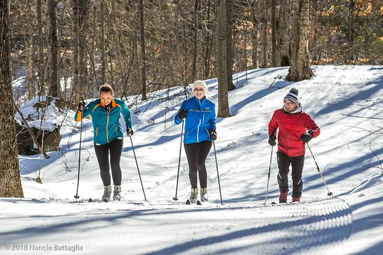 North River, Estado de Nueva York: Fabulous terrain for beginners and experts alike.  Wide groomed trails perfect for classic or sk